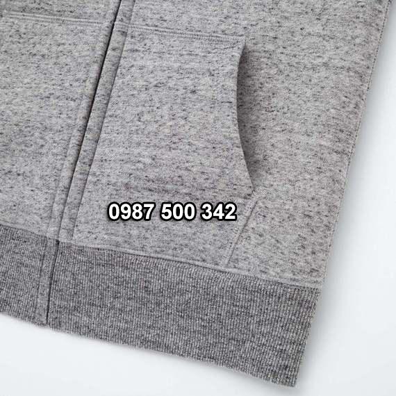 Túi áo nỉ lót lông cừu nữ Uniqlo 2019 - 2020 mã 418238