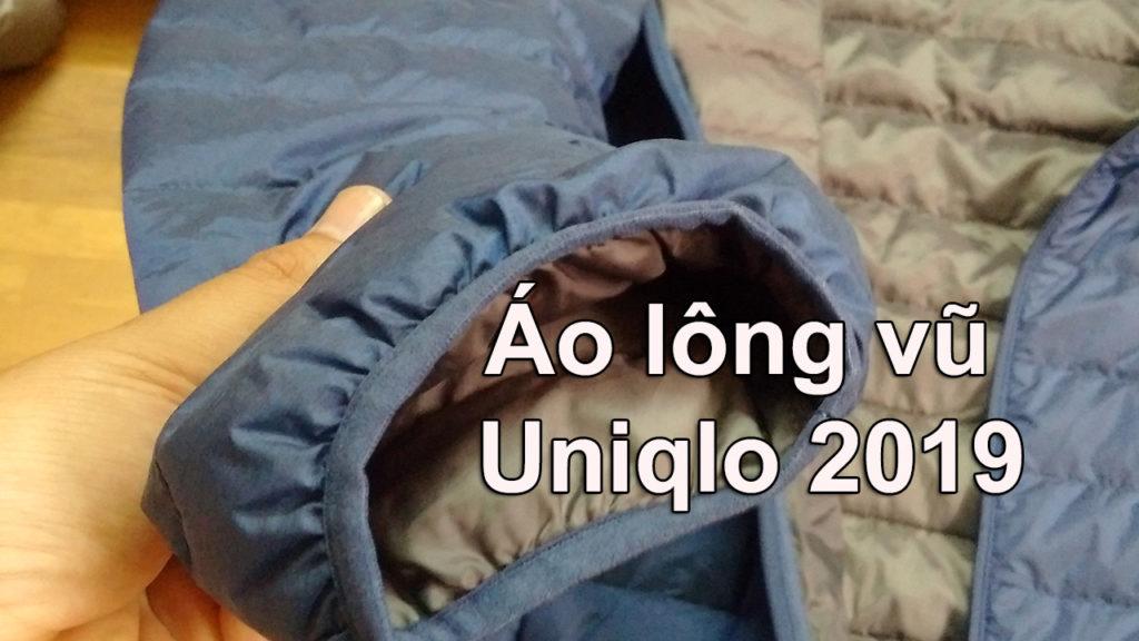 Áo lông vũ Uniqlo Nhật Bản 2019