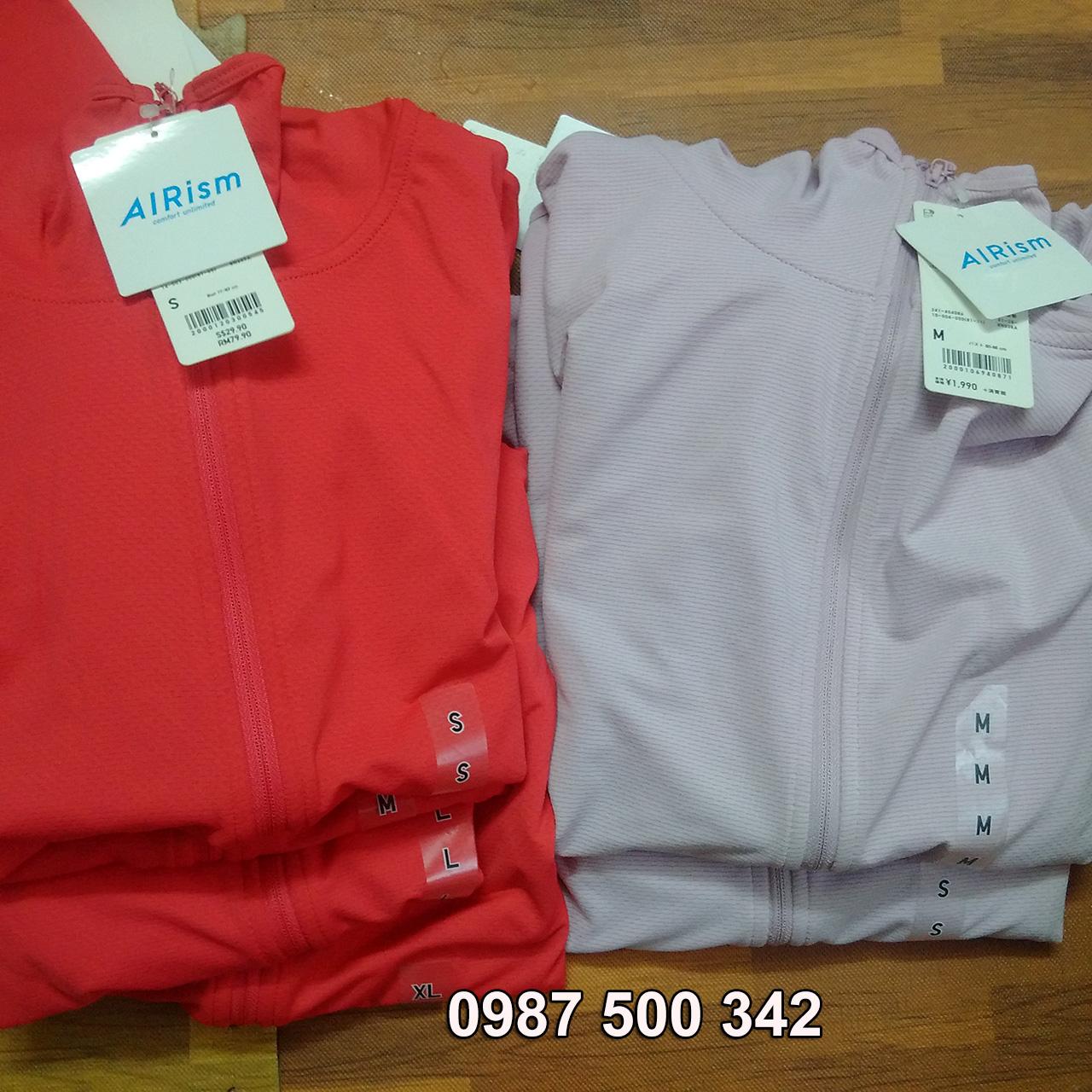 Sale áo chống nắng Uniqlo AiRism hàng chính hãng