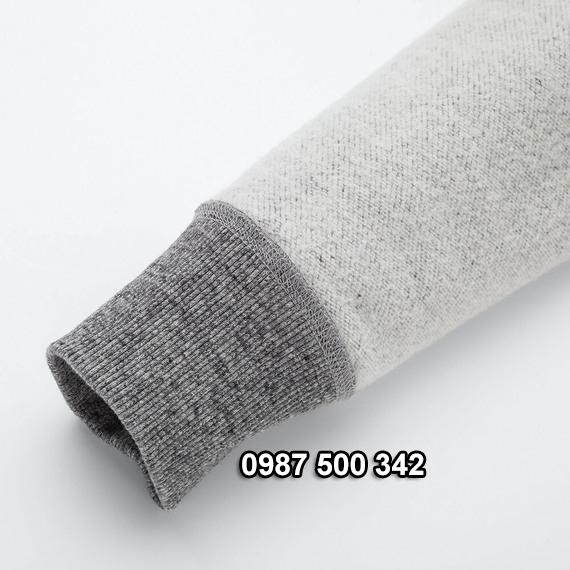 Tay áo nỉ lót lông cừu nữ Uniqlo 2019 - 2020 mã 418238
