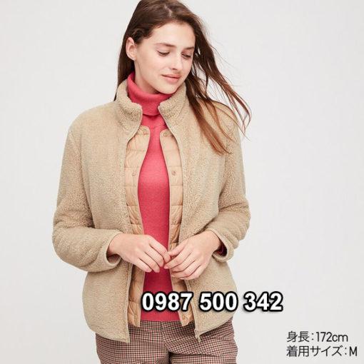 Áo lông cừu 2 mặt Uniqlo Nhật được rất nhiều chị em yêu thích