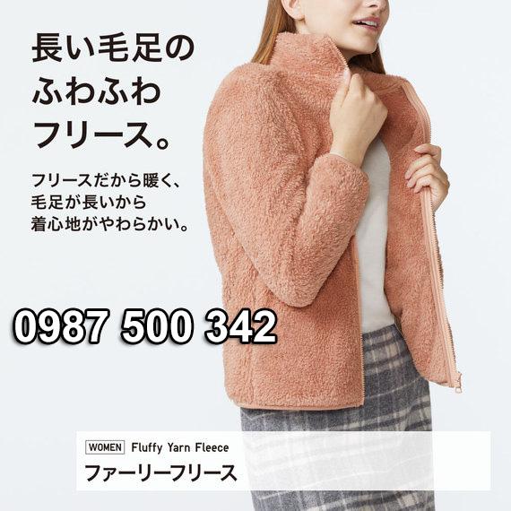 Áo lông cừu 2 mặt Uniqlo Nhật Bản 2019