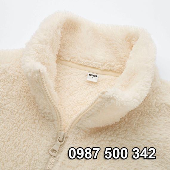 Cổ áo lông cừu 2 mặt Uniqlo