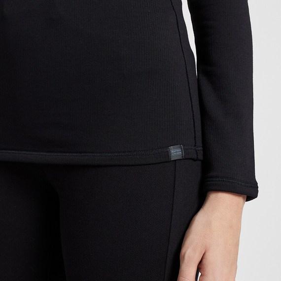 sườn áo có logo Heattech Ultra Warm