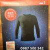 Hộp đựng áo giữ nhiệt nam cổ tròn Heattech Ultra Warm Uniqlo Nhật Bản