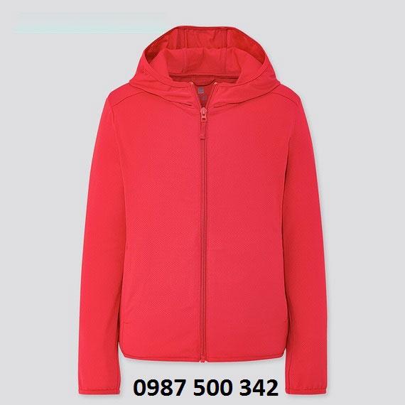 Áo chống nắng trẻ em Uniqlo 2020 - 425209 màu đỏ 14 RED