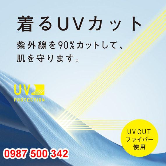 Áo chống nắng trẻ em Uniqlo 2020 - 425209 ngăn hơn 90% tia UV