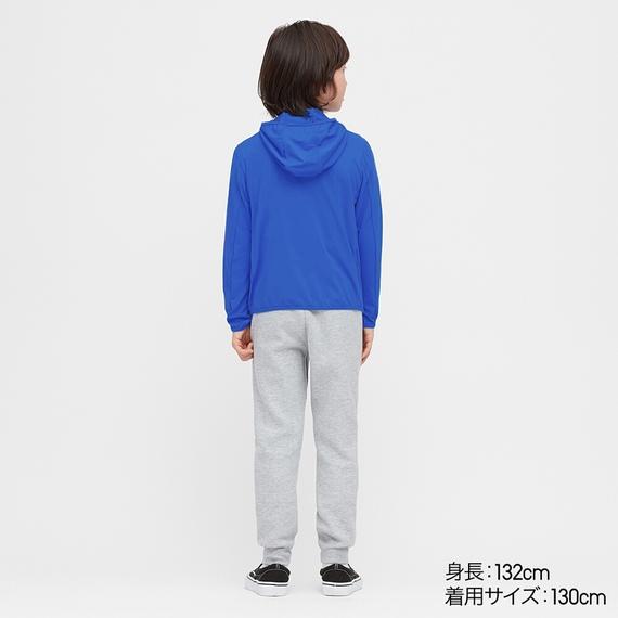 Mặt sau áo chống nắng trẻ em Uniqlo 2020