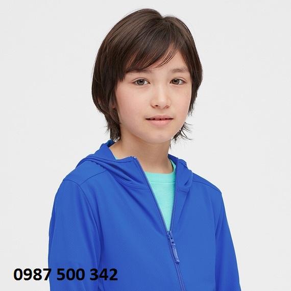 cổ áo chống nắng trẻ em Uniqlo 2020