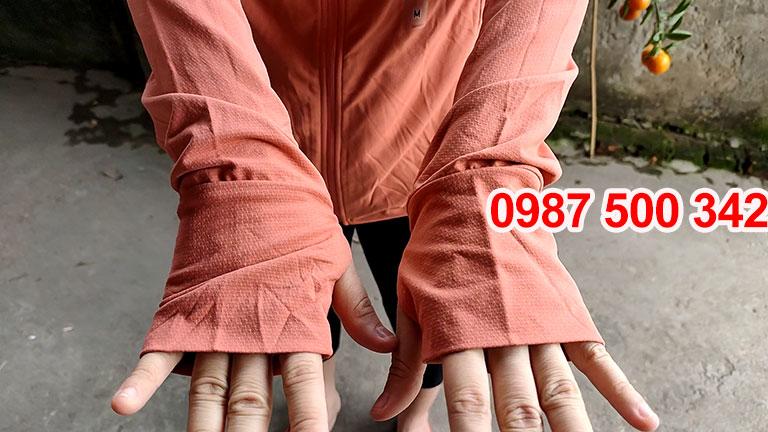 Tay áo Áo chống nắng Uniqlo 2019 màu cam 23 ORANGE-413363