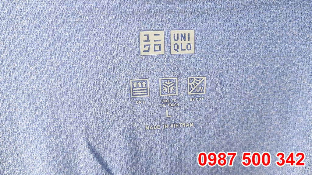 Áo chống nắng Uniqlo Made in Vietnam