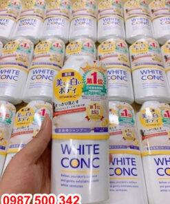 Sữa tắm White Conc Body hàng nội địa Nhật chính hãng 100% Made in Japan.