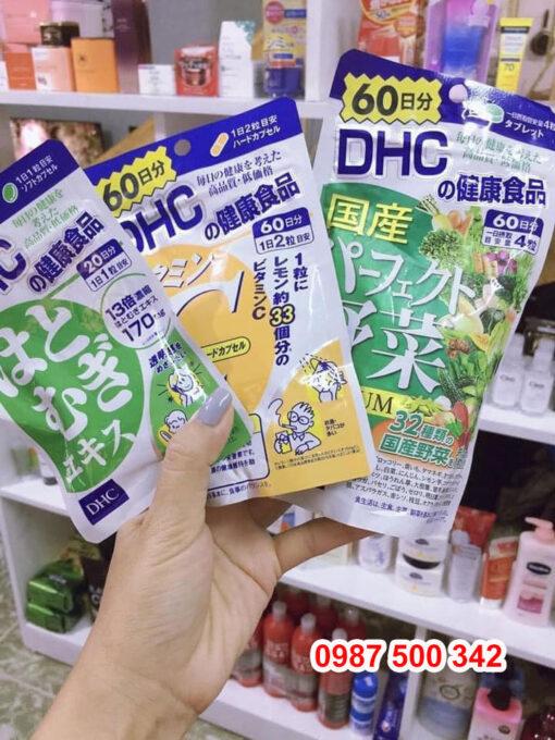 Viên uống DHC phù hợp với đối tượng nào?