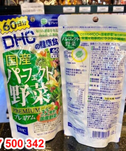 Tác dụng của viên rau củ DHC