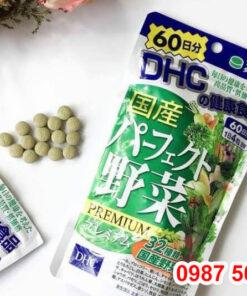Viên uống rau củ DHC là gì