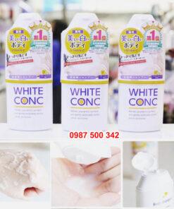 Sữa tắm White Conc được nhiều người yêu thích sử dụng