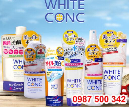 Bộ sản phẩm Dưỡng Da White Conc Body Nhật Bản
