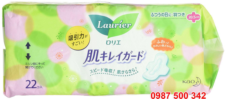 Băng vệ sinh Laurier 44pc nội địa Nhật Bản