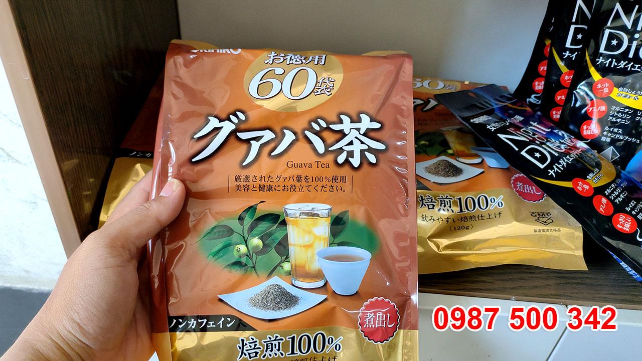 Hình ảnh thật sản phẩm Trà ổi Orihiro Nhật Bản
