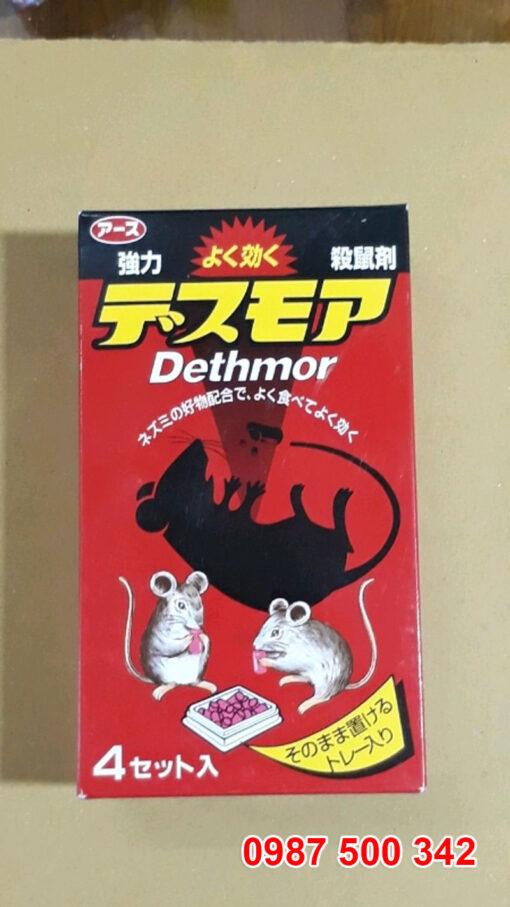 Thuốc diệt chuột Dethmor là sản phẩm được sử dụng phổ biến tại Nhật Bản.