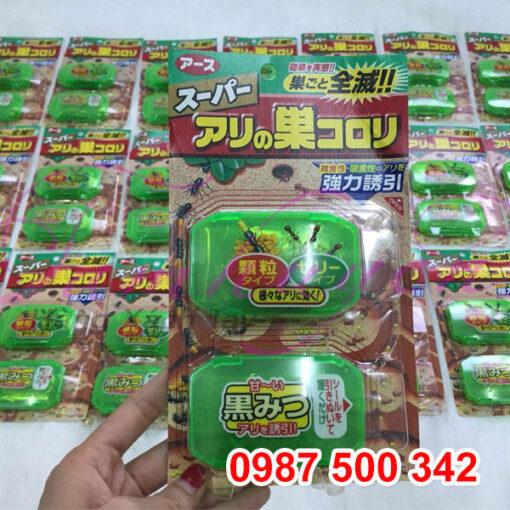 Thuốc diệt kiến SUPER ARINOSU KOROKI (vỉ 2 hộp - nội địa Nhật)