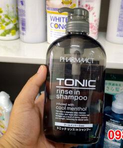 Dầu gội nam Tonic Pharmaact 600ml Nhật Bản