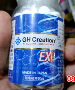 Viên uống tăng chiều cao GH Creation EX Nhật Bản - 270 viên Made in Japan