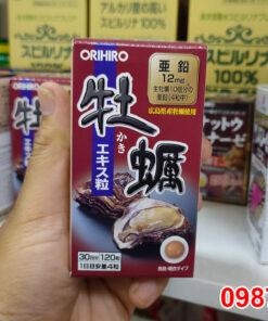 Tinh chất hàu tươi Orihiro được chiết xuất từ thịt hàu tươi đánh bắt từ biển sâu tại vùng biển Hiroshima, Nhật Bản