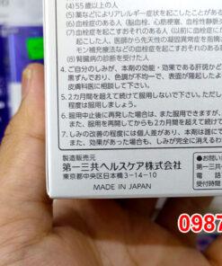 Viên uống Transiano 240 viên trị nám tàn nhang chính hãng nội địa Nhật Bản