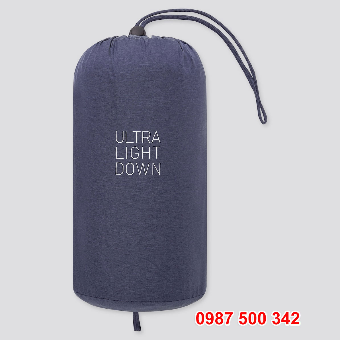 Túi đựng áo lông vũ nam không mũ Uniqlo 2020 - 2021 mã 429280