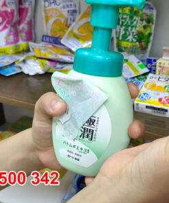 Review Sữa rửa mặt tạo bọt Hada Labo Nhật Bản