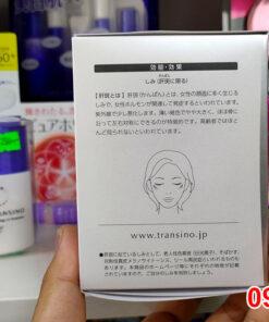Viên uống trị nám Transino là một trong những sản phẩm viên uống trị nám tốt nhất hiện nay đến từ cái nôi của thực phầm chức năng là đất nước Nhật Bản.