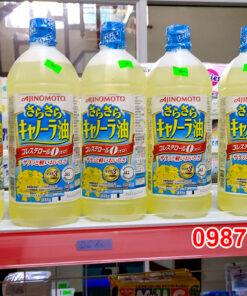 Dầu ăn hoa cải Ajinomoto 1 lít - Nhật Bản