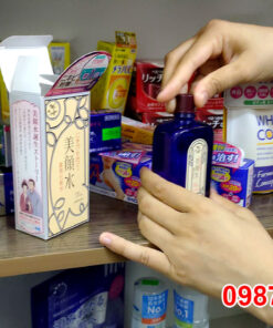 Dùng thử Nước hoa hồng trị mụn Meishoku Nhật Bản