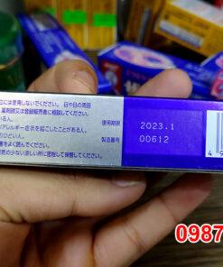 Hạn sử dụng, mã vạch sản phẩm hộp Kem trị mụn Pair Nhật