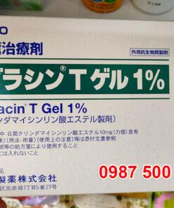 Hộp kem trị mụn Dalacin T Gel Sato 1% 10g Nhật Bản