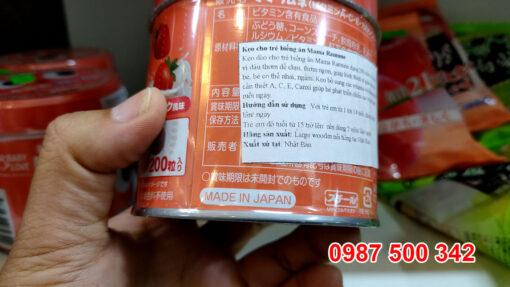 Kẹo biếng ăn Mama Ramune Made in Japan