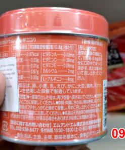 Kẹo biếng ăn của Nhật bổ sung một số loại vitamin như vitamin A, vitamin B, kẽm… giúp trẻ tiêu hóa tốt hơn; vitamin C giúp tăng cường hệ miễn dịch, tránh nhiễm khuẩn gây ra biếng ăn bệnh lý.