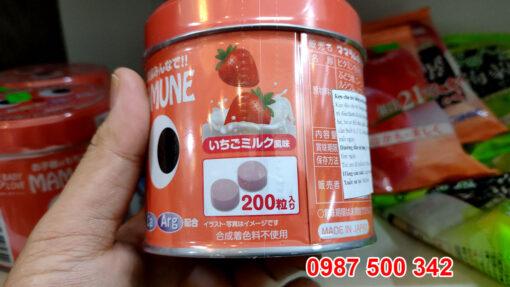 Sản phẩm kẹo biếng ăn Mama Ramune 200 viên Nhật Bản được khuyến khích sử dụng cho trẻ gặp tình trạng biếng ăn, hệ tiêu hóa kém