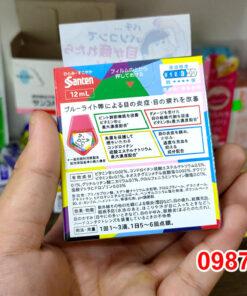Thành phần Thuốc Nhỏ Mắt Sante Pc Nhật Bản 12ml