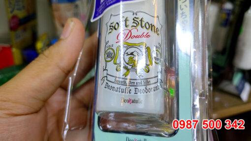 Lăn khử mùi đá khoáng Nhật Bản Soft Stone là sản phẩm khử mùi kèm tiết chế mồ hôi bán chạy số 1 tại Nhật Bản trong nhiều năm liền.