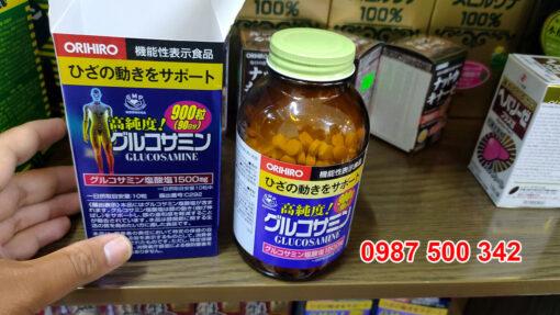bên trong hộp Viên uống bổ Xương Khớp Glucosamin