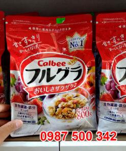 Hình ảnh sản phẩm: Ngũ cốc Calbee Nhật Bản 800g