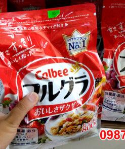 ngũ cốc Calbee thơm ngon, không ngấy bổ sung dễ dàng cho bé và mọi thành viên trong gia đình.