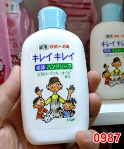 Nước rửa tay tạo bọt Lion 120ml hàng Nhật Bản