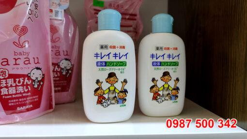 Nước rửa tay tạo bọt Lion Nhật Bản là sản phẩm chất lượng của tập đoàn Lion danh tiếng Nhật Bản