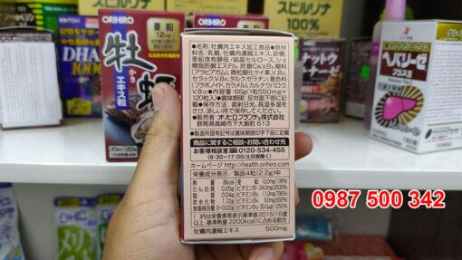 Tinh Chất Hàu Tươi Orihiro Nhật Bản tăng cường hoạt động của gan, hạn chế sự phá hủy gan do bia rượu. Tinh Chất Hàu Tươi Orihiro xuất xứ Nhật Bản