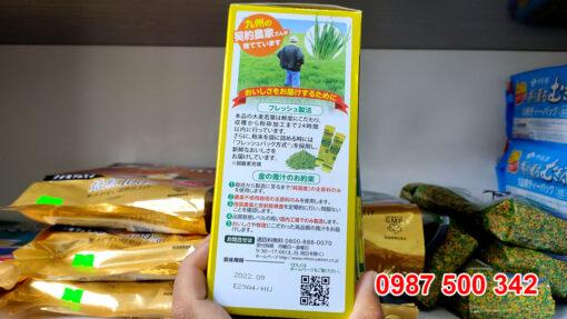 Điều đặc biệt làm nên sản phẩm chất lượng đó là trong mỗi gói sản phẩm đều sử dụng 100% lúa mạch hữu cơ, không có tác động từ thuốc bảo vệ thực vật, lành tính và an toàn.