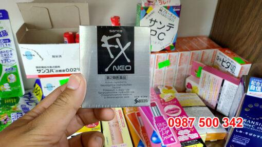 Thuốc nhỏ mắt santen FX NEO Nhật Bản