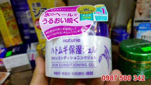 Naturie Skin Conditioning Gel có thành phần chính là hạt ý dĩ